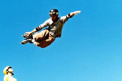 Ein Air in sechs Metern Höhe