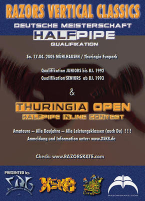 RAZORS VERTICAL CLASSICS / Thuringia Open Flyer