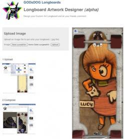 Longboard Artwork Designer App
