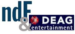DEAG & ndf Logo